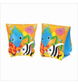 Нарукавник 58652 (36шт) рыбки, 23-15см, 3-6лет, в кор-ке, 13-19-2,5см