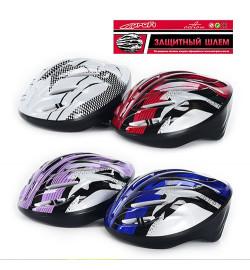 Шлем MS 0033 (40шт) 4 цвета, в кульке, 25-36см