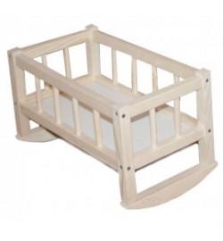 Кроватка для кукол 25*45*35смм(разобранная) СМЕРЕКА