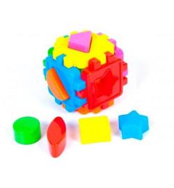 Логический куб-сортер, с геометрич. Фигурами (20шт/уп)
