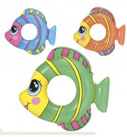 Круг 36111 (36шт) рыбка, 3 цвета, 81-76см,