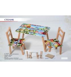 Столик + 2 стульчика