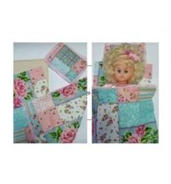 Постільна білизна (матрац, простирадло, 2 стороння ковдра, подушка)
