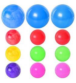 Мяч детский MS 0248 (120шт) 9 дюймов, ПВХ, 75г, 3 вида (микс цветов)