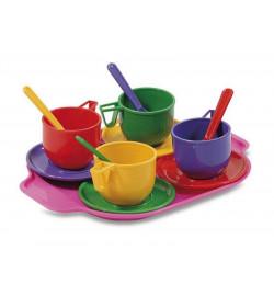 Набір посуду з підносом (13 пр.)