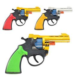 Пистолет A 2 (432шт) на пистонах, 3 цвета, в кульке, 12-10-2см
