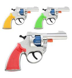 Пистолет A 4 (432шт) на пистонах, 3 цвета, в кульке, 12-10-2см