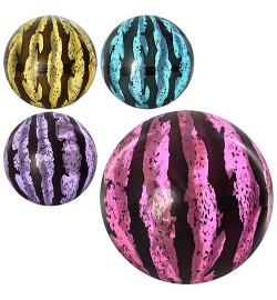 Мяч детский MS 0928 (120шт) 9 дюймов, арбуз, прозрачный, 75г, 4 цвета,