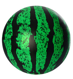 Мяч детский MS 0927 (120шт) 9 дюймов, арбуз, ПВХ, 75г