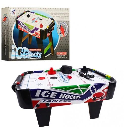 Хоккей ZC 3001+1 (6шт) воздушный, на ножках, поле 50-60см, 220V, в кор-ке, 51,5-31-43,5см