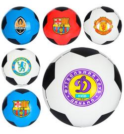 Мяч детский MS 0244-1 (120шт) 8,5 дюймов, одностикерный, ПВХ, 60-65г, 5видов (футб.клуб)
