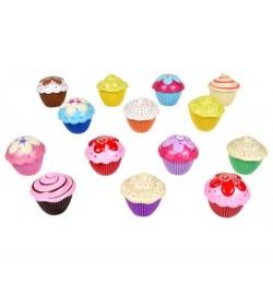 Mini Cupcake 12 шт в упаковке микс цветов 10*5 см