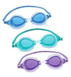 BW Очки для плавания 21002 (24шт) 3 цвета