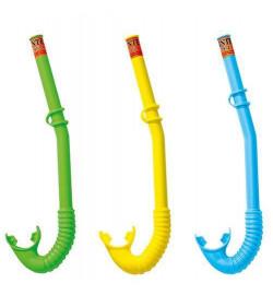 Трубка 55922 (12шт) 3-10лет, 3 цвета, в кульке, 14,5-47,5-2см