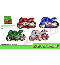 Мотоцикл металл 7831 (96шт/2)