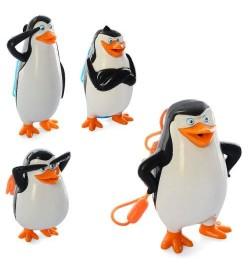 Водяной пистолет M 5557 (72шт) пингвин, 4шт, от 10см, микс видов, в кульке, 21-10-5см