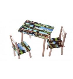 Столик + 2 стільчика