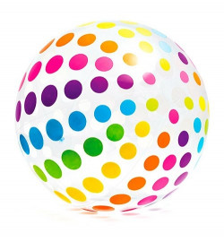 Мяч 58097 (4шт) пляжный, ремкомплект, 5+, в кор-ке,