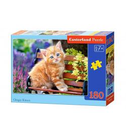 Пазлы Castorland 180 эл. Рыжий котенок