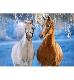 Пазлы Castorland 260 эл. Зимние лошади