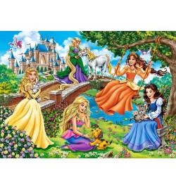 Пазлы Castorland 70 эл. Принцессы в саду