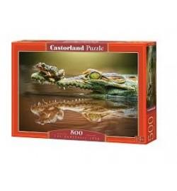 Пазлы Castorland 500 эл. Крокодил