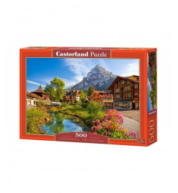Пазлы Castorland 500 эл. Кандерштеге, Швейцария