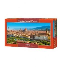 Пазлы Castorland 600 эл. Панорама Флоренции