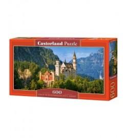 Пазлы Castorland 600 эл. Замок Нойшванштайн, Германия