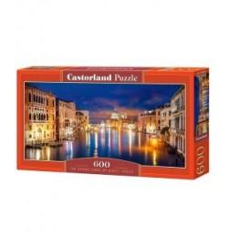 Пазлы Castorland 600 эл. Большой канал, Венеция