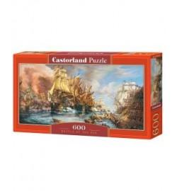 Пазлы Castorland 600 эл. Битва на море