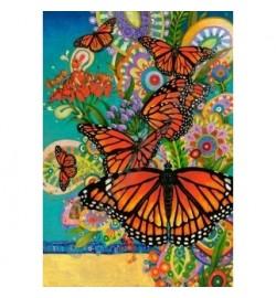 Пазлы Castorland 1000 эл. Бабочки Монархи