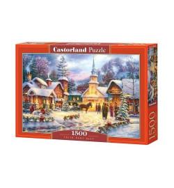 Пазлы Castorland 1500 эл. Зимний город