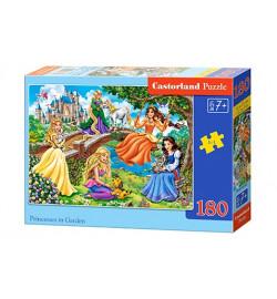 Пазлы Castorland 180 эл. Принцессы в саду