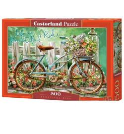 Пазлы Castorland 500 эл. Велосипед