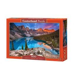 Пазлы Castorland 500 эл. Озеро Морейн, Канада