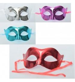 Аксессуары для праздника MK 2310 (360шт) карнавальная маска,завязки,микс цветов, в кульке,17-8,5-8с