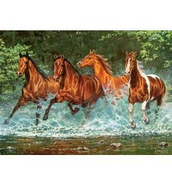 Пазлы Castorland 300 эл. Лошади, бегущие по воде