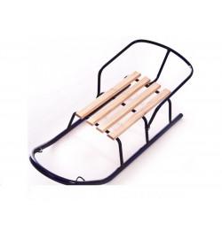 Санки со спинкой труба,  СПУТНИК (мод. 5), продольные