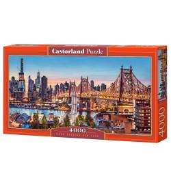 Пазлы Castorland 4000 эл. Вечер в Нью-Йорке