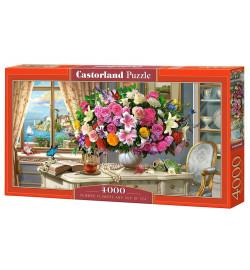 Пазлы Castorland 4000 эл. Летние цветы