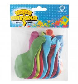 1111-5097 Набір латексних кульок пастель 25 см, 10 од., ТМ