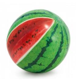 Мяч 58075 (12шт) пляжный, Арбуз, 107см, ремкомплект, от 3лет, в кор-ке,