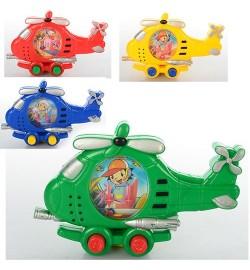 Игра водяная M 2197 (288шт) вертолет, 4 цвета, в кульке, 13-9-1,5см