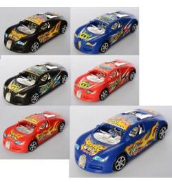 Машина 553-646 (240шт) инер-я, 15,5см, 2вида/микс цветов, в кульке, 7,5-15,5-4см