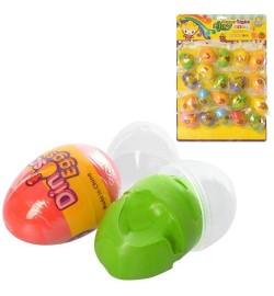Масса для лепки MK 3331 (600шт) 15г, в яйце, 20шт(7цветов) на листе, 42-29-4см