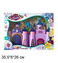 Замок SG-29018 с мебелью,куклами батар.муз.свет.кор.35,5*6*26 /36/