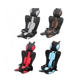 Детское автомобильное бескаркасное кресло чехол бустер Child car seat(красн,синий,коичн,серый)