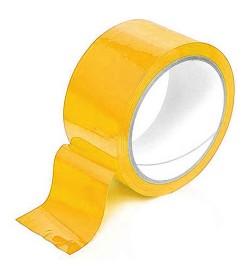 Скотч упаковочный желтый 200м S-200Y (36шт)