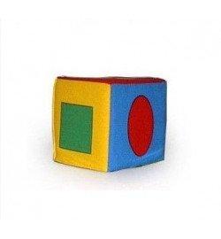Кубик погремушка геомет - фигуры/48 арт  123